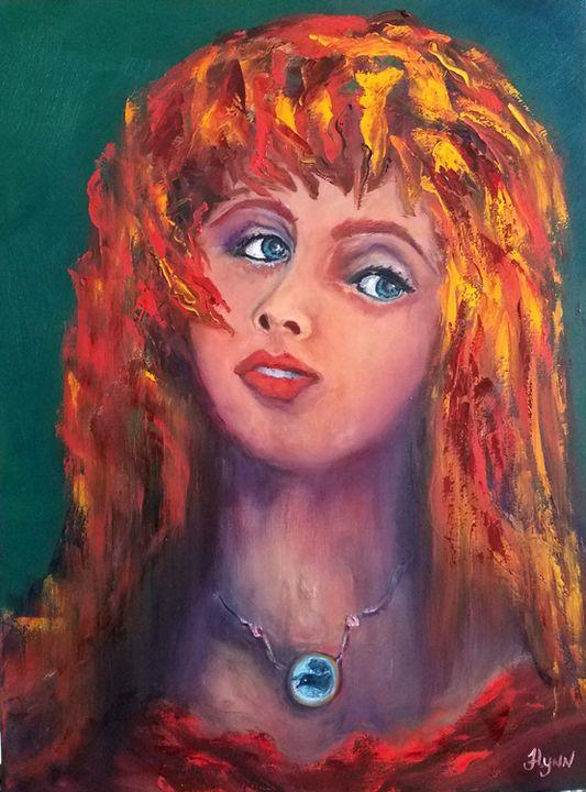 The Crow Pendant - Flynn Paintings