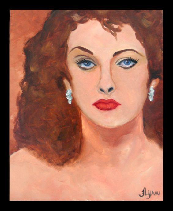 Pinup Girl 5 - Flynn Paintings