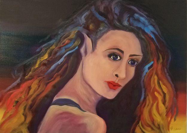 Tixie the Pixie - Flynn Paintings