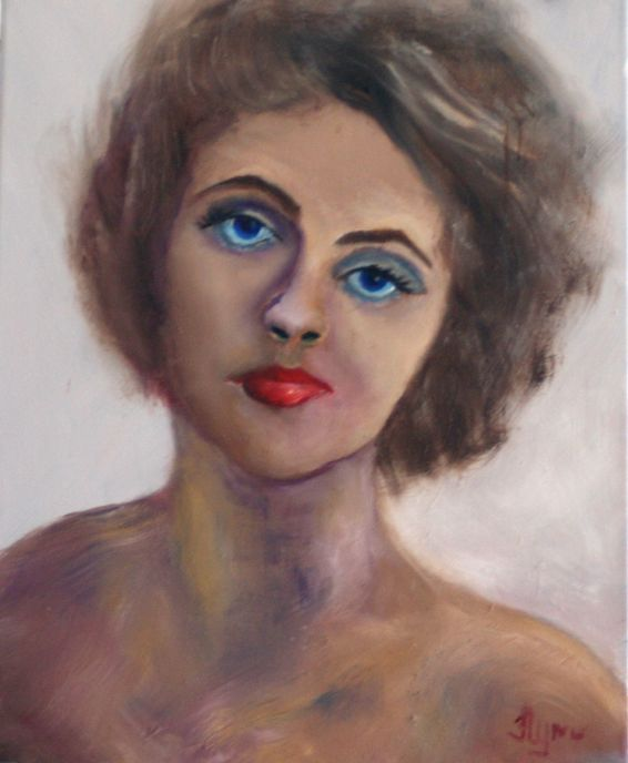 Pin-up Girl 6 - Flynn Paintings
