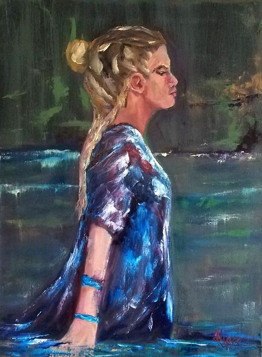 Lady of the Lake 1 - Flynn Paintings