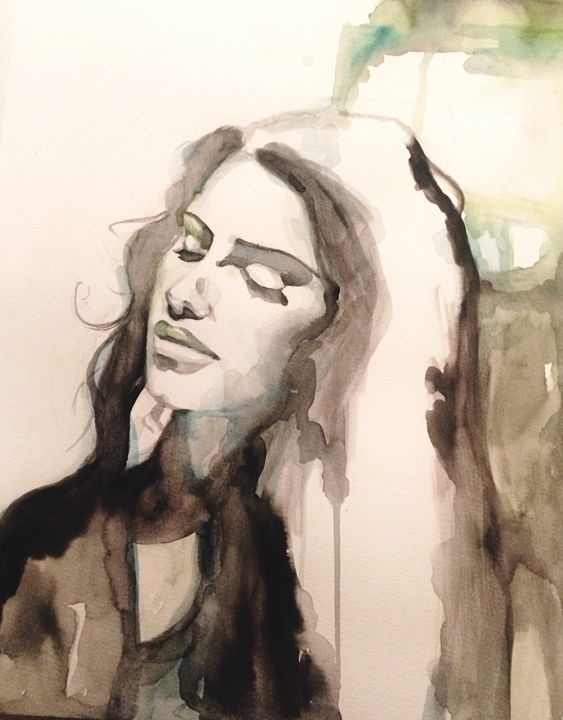 Summer Night - Evi Elias paintings
