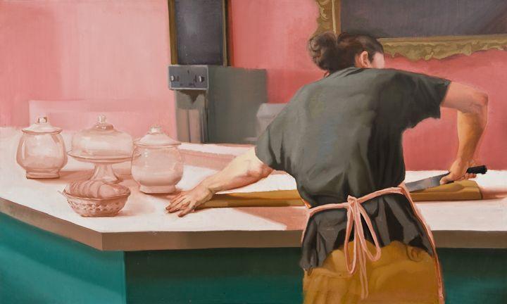 bread cutter - Sylvia Parker Maier