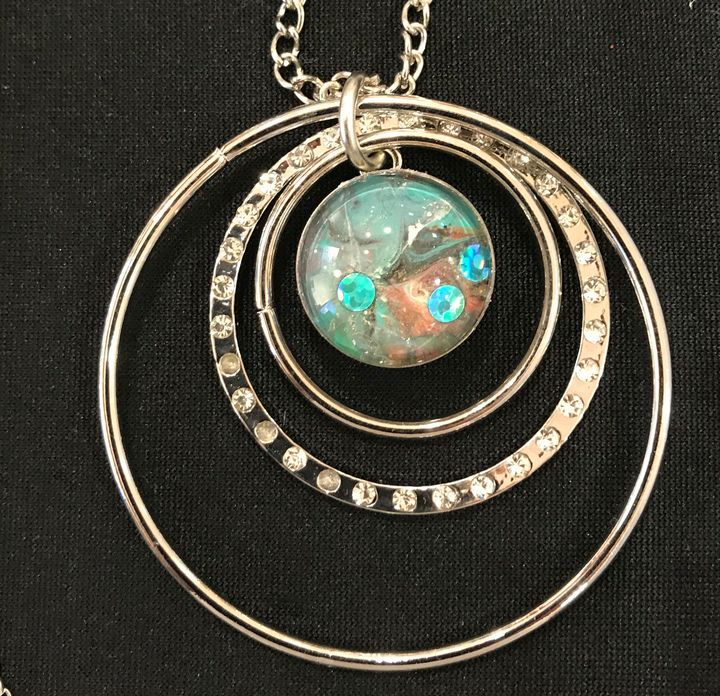 Interchangeable Snap button pendant - Impressions by ISY