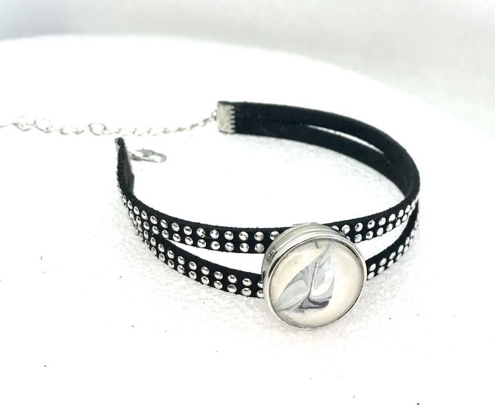 Snap bracelet 20mm snap rhinestones - Impressions by ISY
