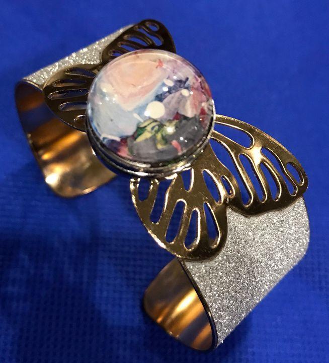 Butterfly bracelet 18-20mm - Impressions by ISY