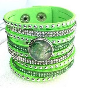 Bracelet  With handmade Snap 20mm