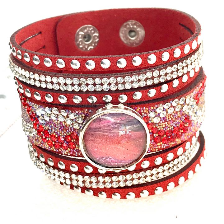 Bracelet handmade snap 20mm - Impressions by ISY