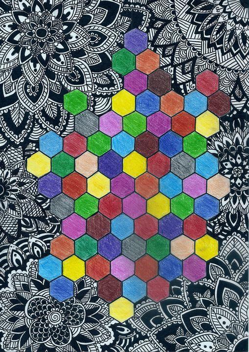 Mandalas and colors - Somogyi Gabriella