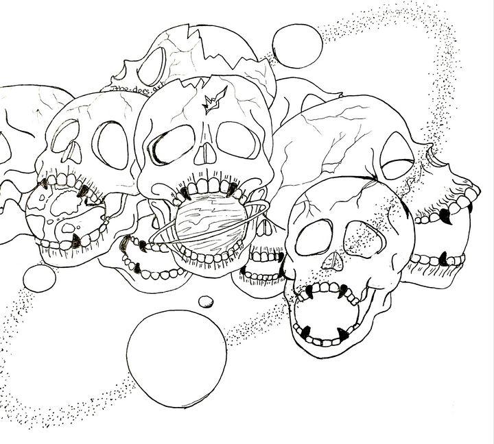 Skulls 'n' SPace - Jtho