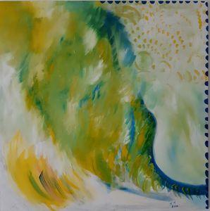 Woman on the wave - Polina NTALAMPIRA