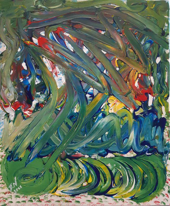 Spiral Green. - Polina NTALAMPIRA