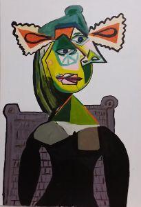 Les femmes Picasso. - Polina NTALAMPIRA