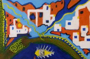 Village. - Polina NTALAMPIRA
