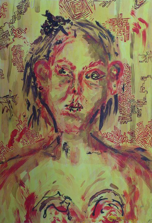 self-portrait - Maira Schmerder
