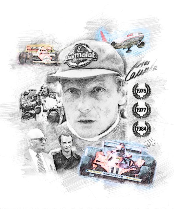Niki Lauda - Theodor Decker
