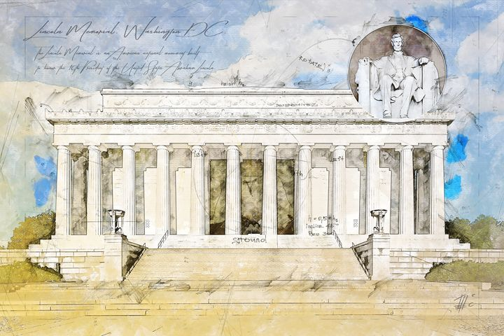 Lincoln Memorial, Washington DC - Theodor Decker