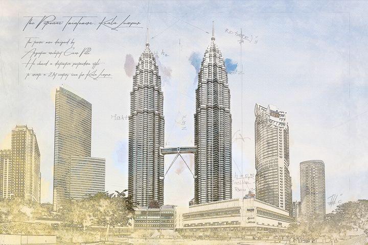 Petronas Towers, Kuala Lumpur - Theodor Decker