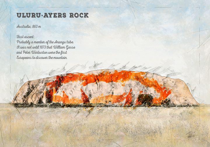 Uluru, Ayers Rock - Theodor Decker