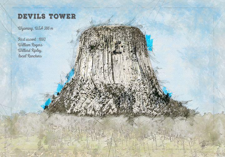 Devils Tower - Theodor Decker
