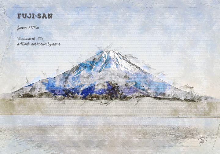 Fuji-San - Theodor Decker
