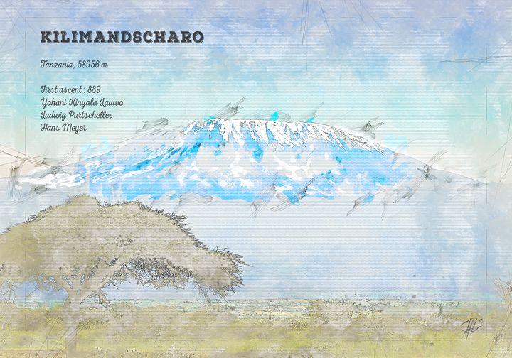 Kilimandscharo - Theodor Decker