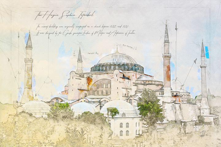 Hagia Sophia - Theodor Decker