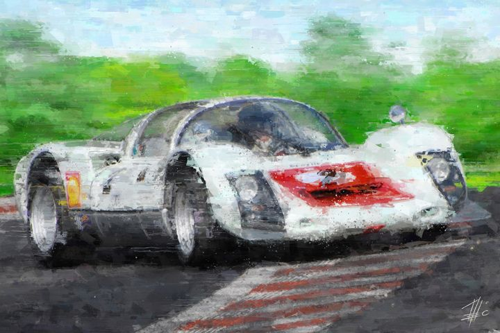 Porsche 906 Carrera - Theodor Decker