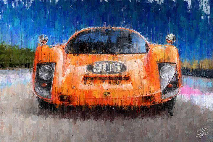 Porsche 906 - Theodor Decker