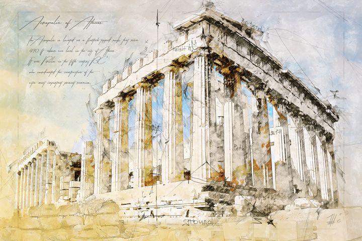 Acropolis - Theodor Decker