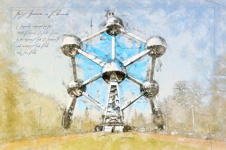 Atomium, Brussels Belgium - Theodor Decker