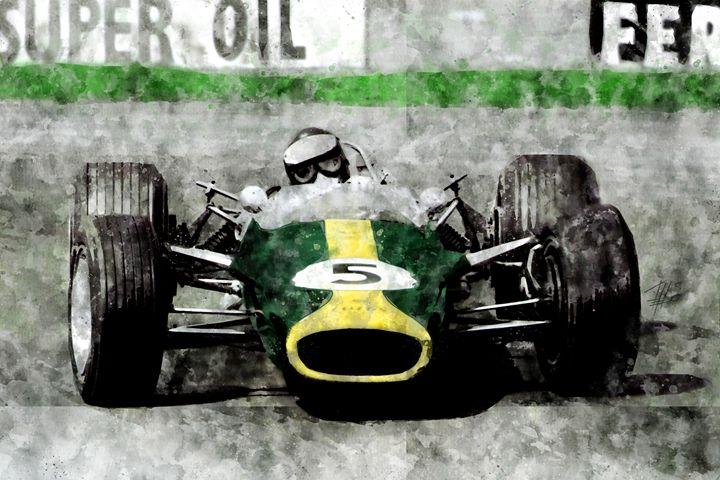 Jim Clark on Lotus - Theodor Decker