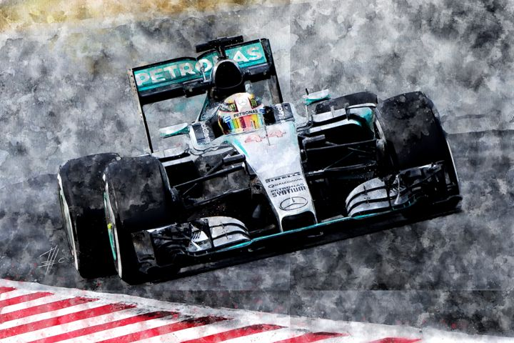 Lewis Hamilton 2015 - Theodor Decker
