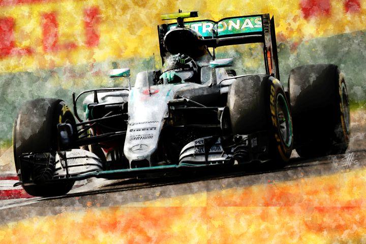 Nico Rosberg - Theodor Decker