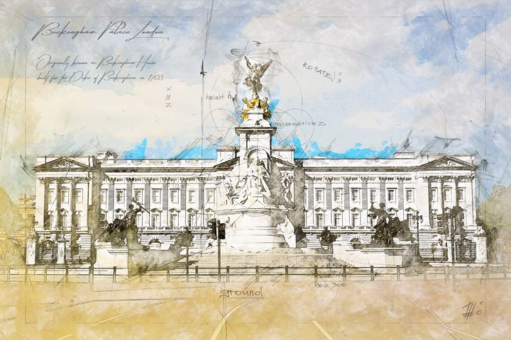 Buckingham Palace, London - Theodor Decker