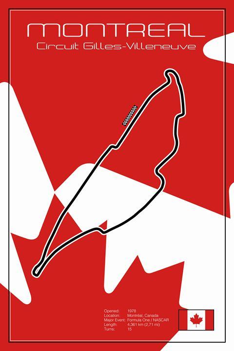 Montreal Racetrack - Theodor Decker