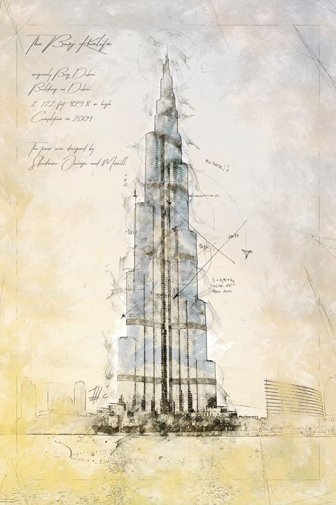 Burj Khalifa, Dubai - Theodor Decker