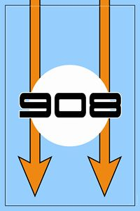 908 Gulf Racing Design