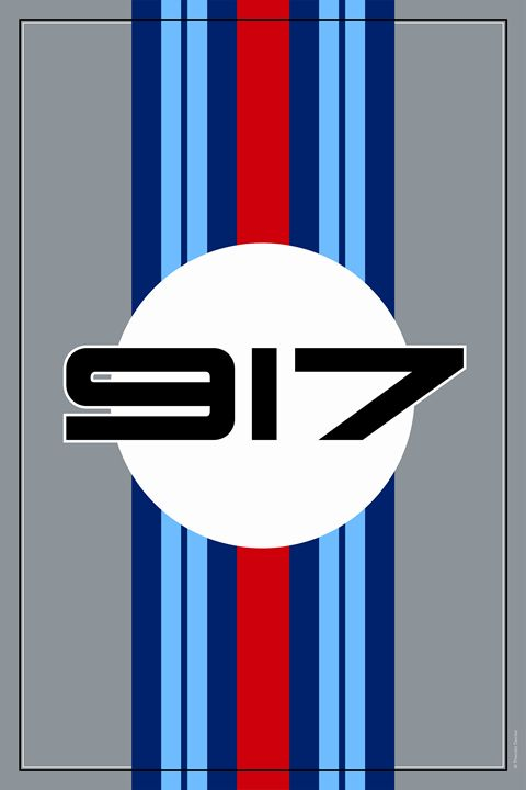 917 Martini Racing Design - Theodor Decker