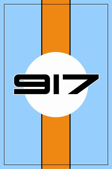 917 Gulf Racing Design - Theodor Decker