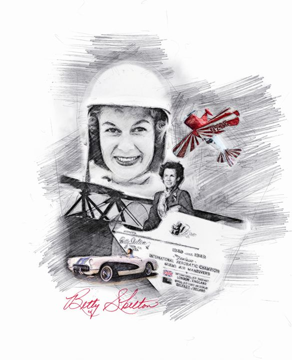 Betty Skelton Erde - Theodor Decker