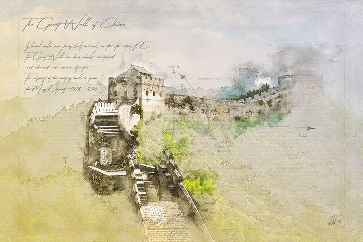 Chinese Wall - Theodor Decker