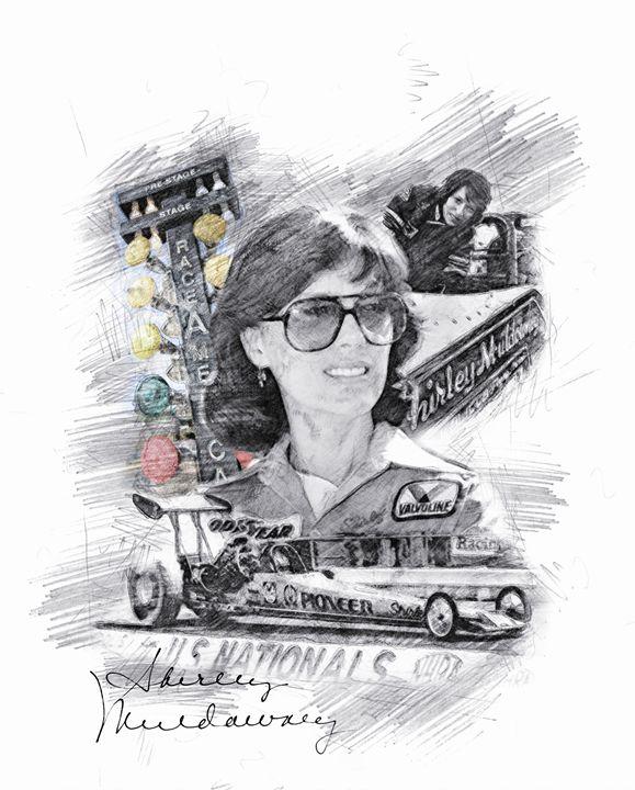 Shirley Muldowney - Theodor Decker