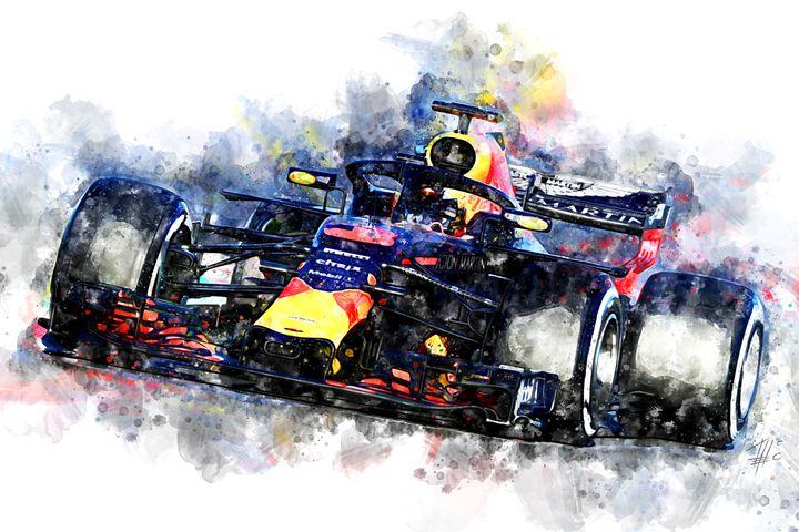 Daniel Ricciardo F1 2018 - Theodor Decker