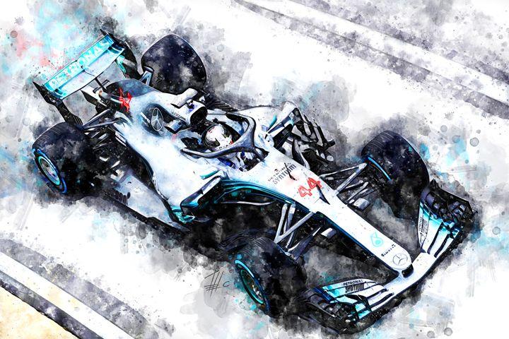 Lewis Hamilton 2018 - Theodor Decker