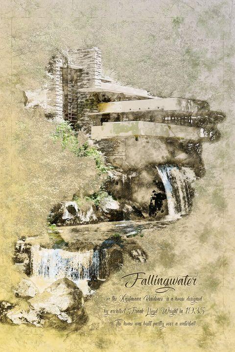 Fallingwater Portrait - Theodor Decker