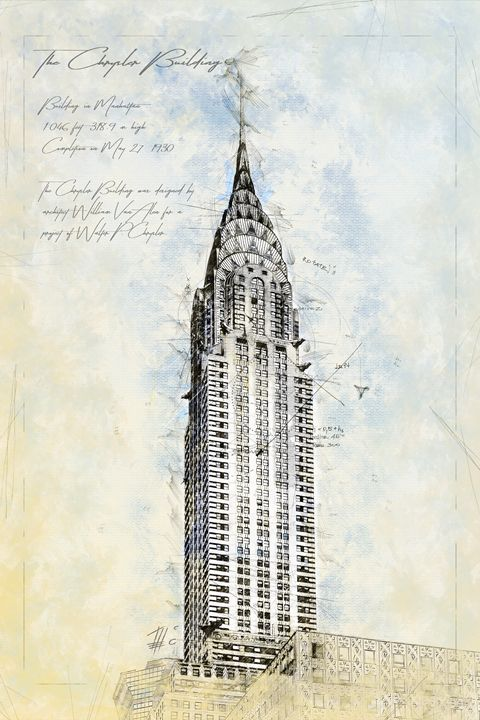 Crysler Building, New York - Theodor Decker