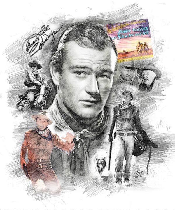 John Wayne - Theodor Decker