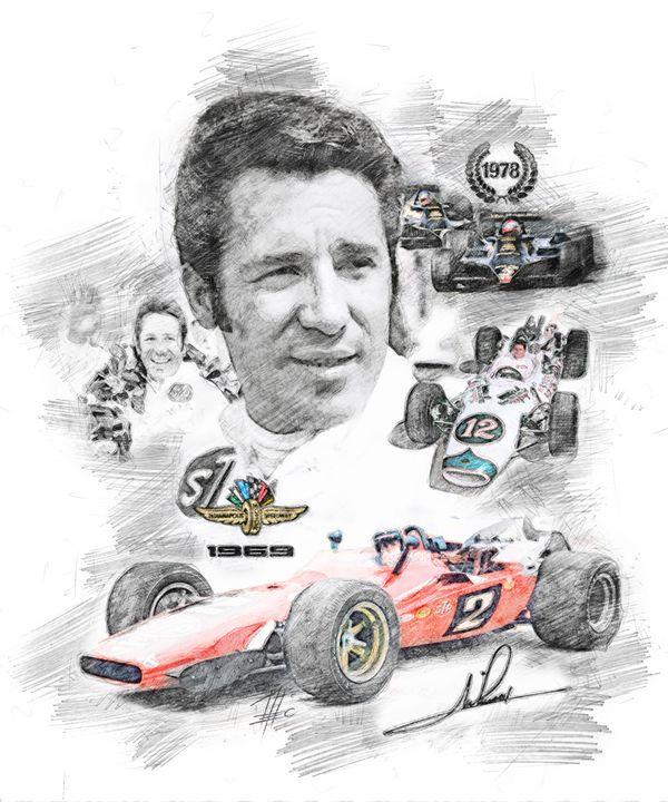 Mario Andretti - Theodor Decker