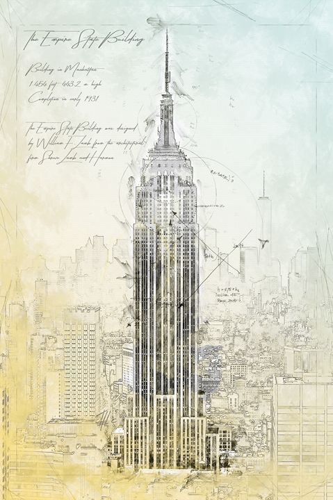 Empire State Building, New York - Theodor Decker